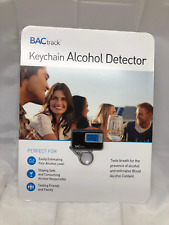 Bactrack Keychain Alcohol Detector Led Display Fold Out Mouthpiece New Free Ship