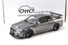 1:18 OTTO Nissan GT-R (R34) Clubman Race Spec Gun grey NEW bei PREMIUM-MODELCARS