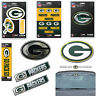 NFL Green Bay Packers Premium Vinyl Decal / Sticker / Emblem - Pick Your Pack