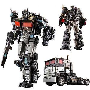 Nemesis Prime Transformers Truck Action Figure Toys Siege Alloy Robot Model Kit