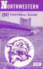 1967 Nortwestern Wildcats Football Media Guide with Alex Agase