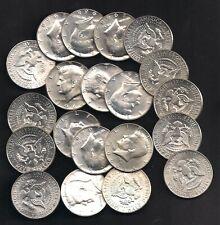 1968-D 40% Silver Kennedy Half Dollar Roll (20 coins) Unc TMM*