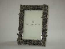 "POTTERY BARN Enamel Photo Frame Mariposa for 4"" x 6"" Photo, Overall Size 8"" x 6"""