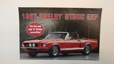 Brochure 1967 Shelby GT 500 Ford Mustang By Danbury Mint