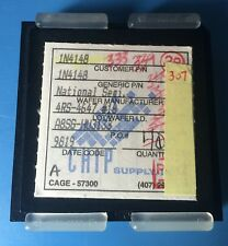 1N4148 NATIONAL SEMICONDUCTOR WAFER DIE CAGE-57300 307/units total