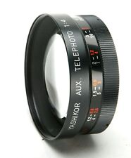 Yashikor Y605 Telephoto 1:4 Auxiliary Lens With 55mm Thread. Made In Japan.