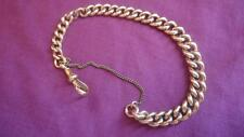 Antique Victorian 9ct Gold Albert Bracelet. Heavy 40 Grams.