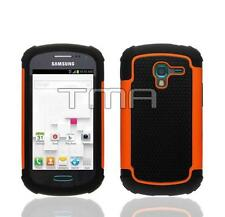 Fits Samsung Galaxy Ace 2 II-E T599 Case Rugged Impact Shockproof Cover - Orange