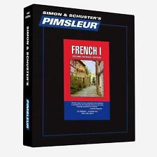 Pimsleur Learn/Speak FRENCH Language Level 1 CDs NEW!!