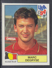 Panini - USA 94 World Cup - # 368 Marc Degryse - Belgique (Green Back)
