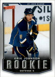 2007-08 Upper Deck Victory Rookie Erik Johnson Rookie #310