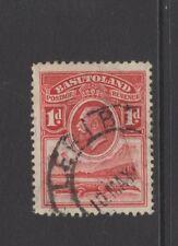 BASUTOLAND GEORGE V 1d RED With LERIBE POSTMARK