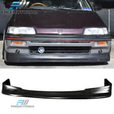 For 88-89 Honda Civic 3Dr 88-91 Civic Wagon Front Bumper Lip Zenki Style PU