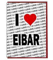 Greeting Card - Birthday Card - I Love Eibar