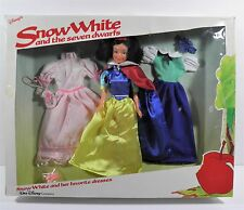 DISNEY'S SNOW WHITE & THE SEVEN DWARFS HER FAVORITE DRESSES GIFT SET DOLL BIKIN