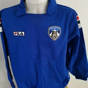 maillot de football Oldham athletic afc FILA  taille M FOOT