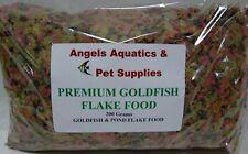 Angels Aquatics Premium Aquarium Goldfish & Pond Flake Fish Food 200g pack