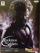 DRAGON BALL Z RESOLUTION OF SOLDIERS SATAN BLACK Ver. FIGURA FIGURE NEW NUEVA