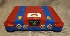 Custom Painted Mario Nintendo 64 Console - Region Free Modded - NUS-001