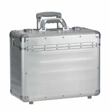 Maletín maleta con ruedas businesskoffer arbeitskoffer aluminio PLATA