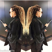 BASILISK FULL SET synthetic dreads extension Ombre black/brown/blonde 20-25 inch