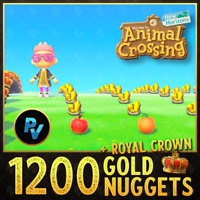 Animal Crossing:New Horizons 1200 Gold Nuggets!
