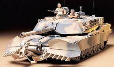 TAMIYA 1/35 M1A1 Abrams Tank w/Mine Plow Model Kit TAM35158