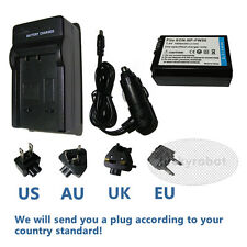 Battery and Charger for Sony NP-FW50 NEX-5 5R 5N 5C 7 6 3N NEW TYPE camera