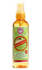 ALL ORGANICS ~Water Based Citronella Insect Repellant~ (100ml) Non-Sticky