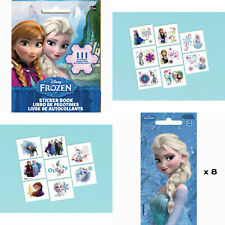 FROZEN Stickers Tattoos Sticker Book Party Loot Bag Fillers Birthday Favours