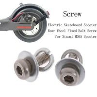 2pcs/lot Electric Scooter Rear Wheel Fixed Bolt Screws for Xiaomi M365 Scoote mi