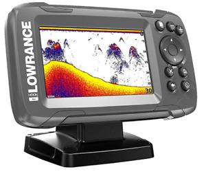 Lowrance Hook2 4X GPS Bullet Skimmer FishFinder - GPS Model w/ Bullet Transducer