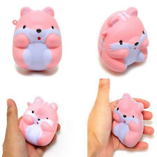 New listing Squishy Fun I-Bloom Pom Pom Hamster Slow Rising Toy Squeeze Relieve Anxiet Gift