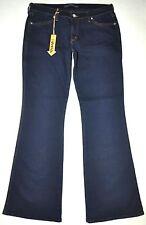 Neue Mavi Damen dunkelblau 596 Marie Flare Sexy Low Rise Slim JEANS 31X32 Stretch