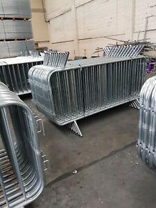 Crowd Barriers NEW Heavy Duty Fixed Leg Top Quality £19.50   07939513160  Joe