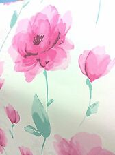 SALE | Vintage Watercolour Flower Quote Wallpaper Pink Cream 5577