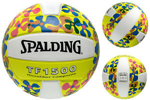 Spalding TF1500  70's Floral Micro fiber Composite Volleyball
