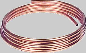 Meterware Kupferrohr weich in Ringen zur Wahl 6 x 1, 8 x 1, 10 x 1, 12 x 1mm