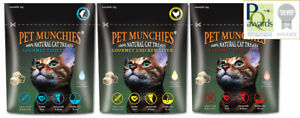 Pet Munchies Gourmet Cat Treats 10g freeze dried natural healthy grain & gluten