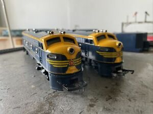 Triang R159 Transcontinental Loco And Dummy Loco OO Gauge