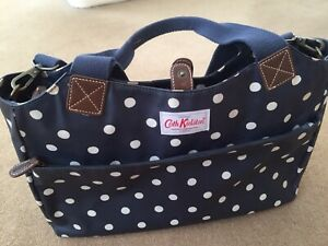 Cath Kidston Large Blue Polka Dot Crossbody/Tote Bag - Immaculate Condition