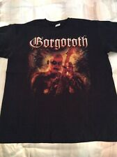 GORGOROTH Shirt XL, The Chasm, Urgehal, Urfaust, Inquisition, Austere
