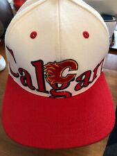 BASEBALL HAT CAP  Reebok NHL Calgary Flames Hockey