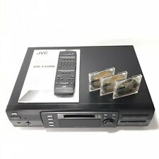 Vintage Jvc Xm-448 Minidisc Md Recorder / Player with Qwerty Remote & Manual