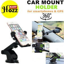 Universal 360° Rotation Easy One Touch Car Windshield Mount For Cell Phone, GPS