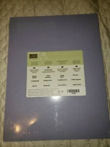 Retired RARE Wisteria Wonder 8 1/2 x 11 Stampin Up Card Stock NIP