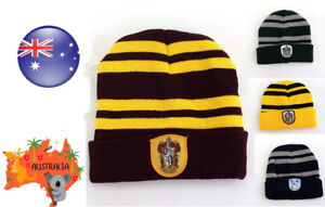 AU Harry Potter Unisex Gryffindor Ravenclaw Slytherin Hat Costume Cosplay Party