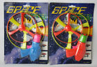 2X RARE VINTAGE 90'S SPACE GUN SPACE FLYING SAUCERS NEW SEALED
