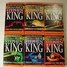 The Green Mile by Stephen King Unabridged Audiobook Set of 12 Cassette Tapes