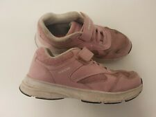 Geox size 12.5 (31) kids pink trainers